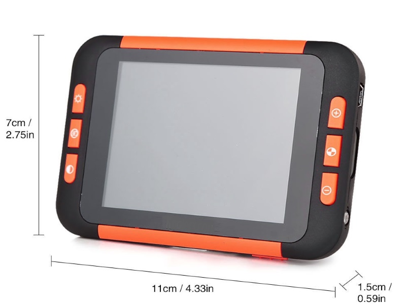 "AMAX 3.5"" Electronic Magnifier"