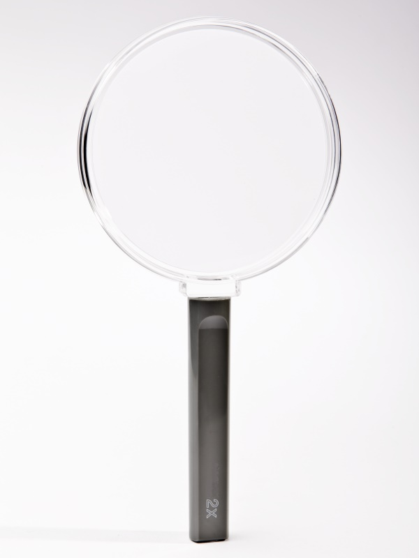 Clear Frame hand  magnifier, 100mm