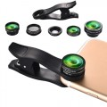 Hautik 5 in 1 Mobile Phone Lens Kit