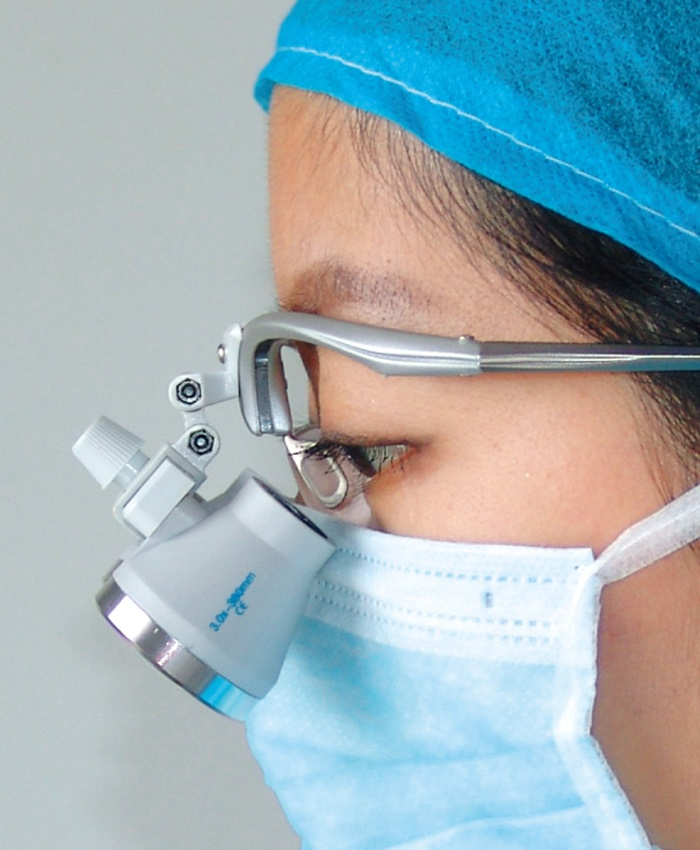 NS Dental Loupe With Light