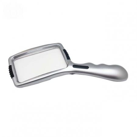 3X Magnifier Illuminated Handheld Magnifying Glass With LED Lights 01