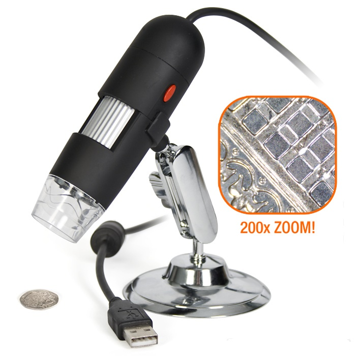 Portable Video Microscope 20 400X