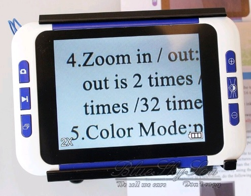 EziVue 35 Inch Video Magnifier