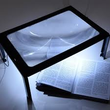 Desk Top Magnifier With Light