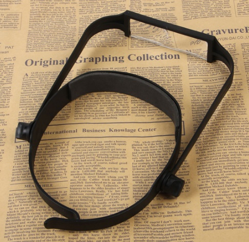 Head Band Magnifier Glass Lens, New