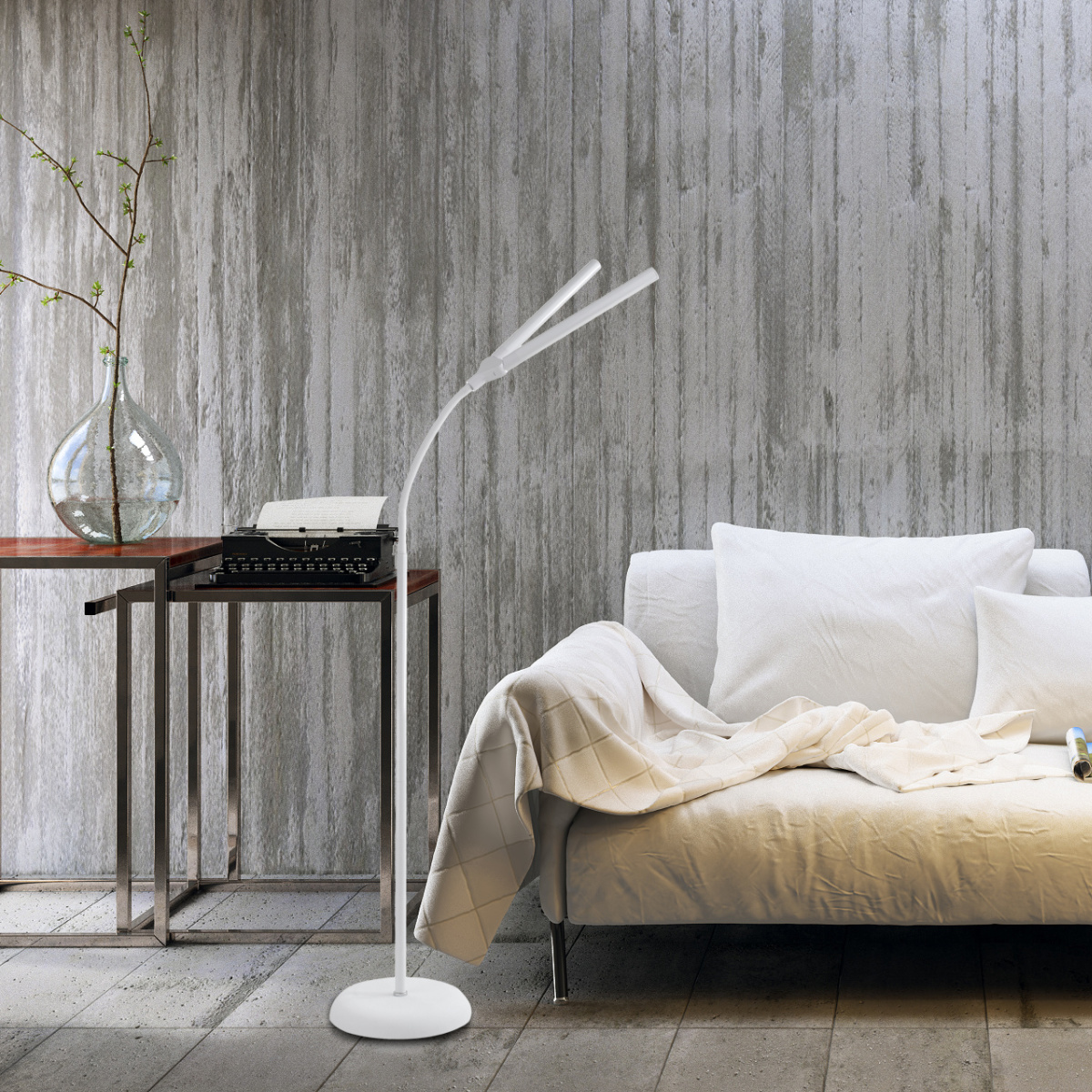 Duo LED Floor Lamp 1
