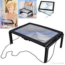 Desk Top Magnifier On Stand