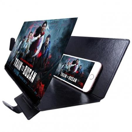 3X Moblie Screen Magnifier With Foldable Cover
