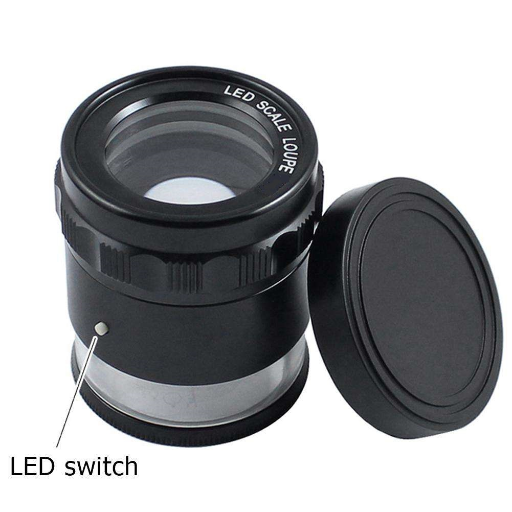 8X LED Loupe With LED