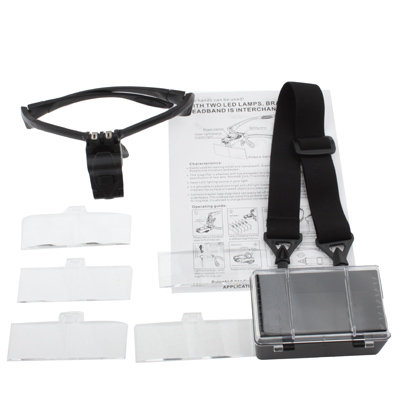 Spectacle Magnifier With Lenses