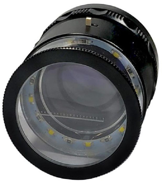 8x SCALE LOUPE Led