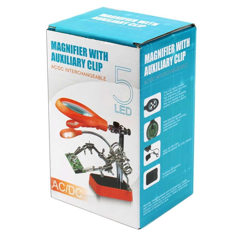 Helping Hand Magnifier Delux Box