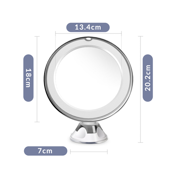 7X LED Magnifying Mirror
